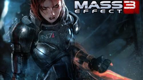Mass Effect 3, il comandante Shepard in versione femminile