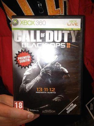 CoD Black Ops 2, immagine scatola