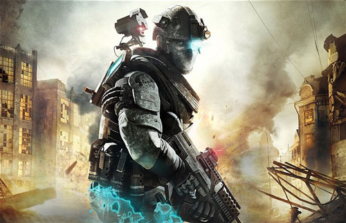 Ghost Recon Future Soldier, copertina