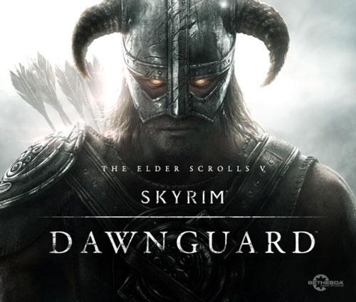 skyrim dlc dawnguard logo