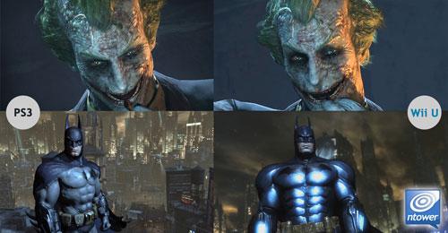 Batman PS3 vs Wii U