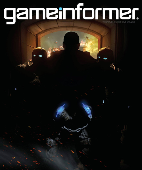Gears of War 4 - copertina Game Informer