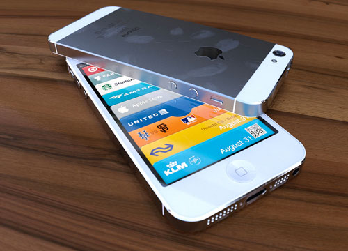 iPhone 5 rendering bianco