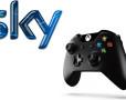 Sky e controller Xbox One